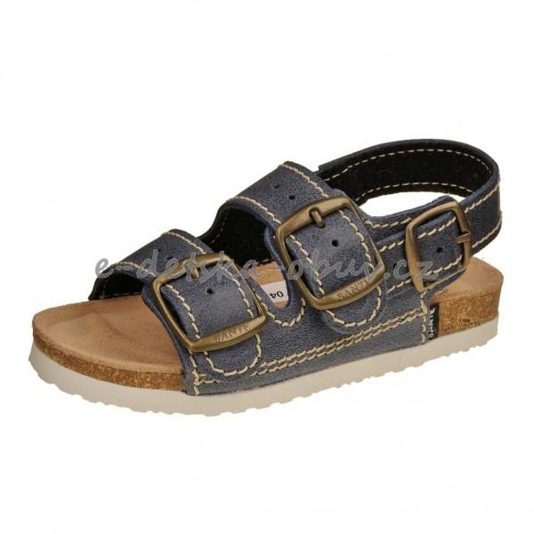 cfb47709a5b Dětská obuv Santé sandály modré -