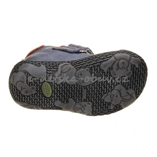 Dětská obuv - Santé N661 201  modrá  7b9281dad1