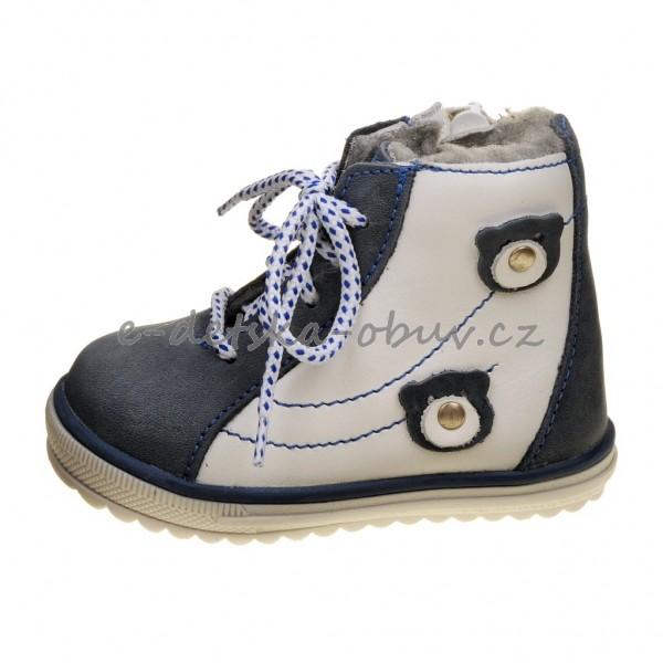 Dětská obuv - Santé 730 301 zimní  modré  0df3fd1f2d