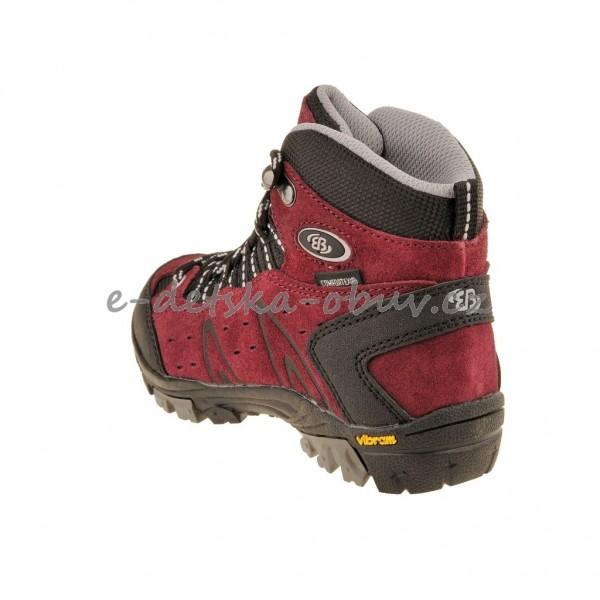 a2e64586ebb3 Dětská obuv - Brütting Mount Bona High  bordeaux