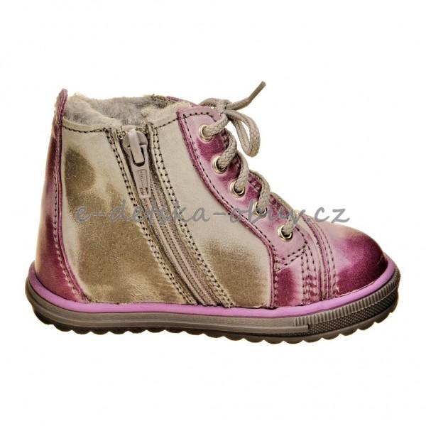 Dětská obuv - Santé 730 301 zimní  fial.  e94b9da116