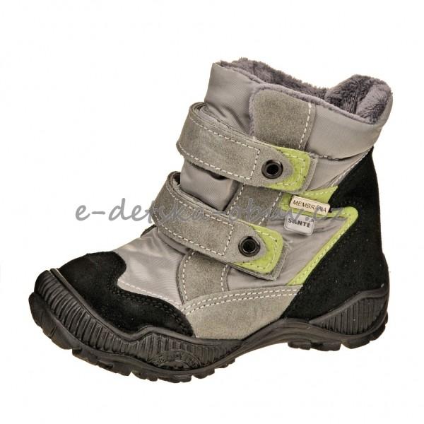 Dětská obuv Santé Tracktop  zelená - b31ba717c8