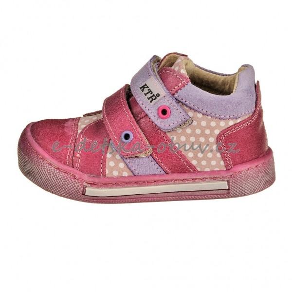 c4dced13281 Dětská obuv - KTR 162 165BA  amarant