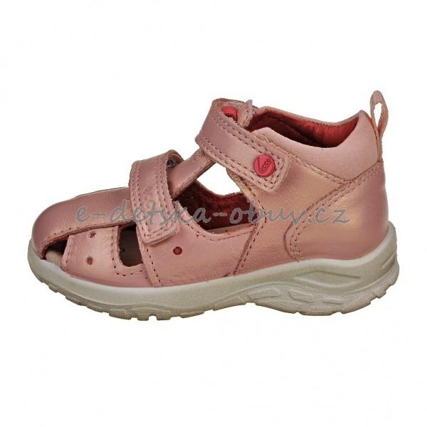 e4ad9837959 Dětská obuv - ECCO Peekaboo  silver pink