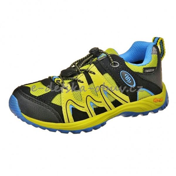 Dětská obuv Brütting Vision low Kids  lemon blau - b77121d5f0