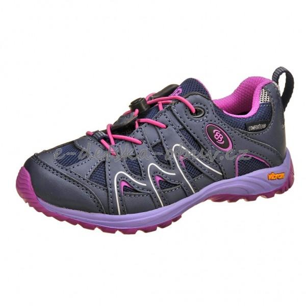 Dětská obuv Brütting Vision low Kids  lila pink - ac071b409d
