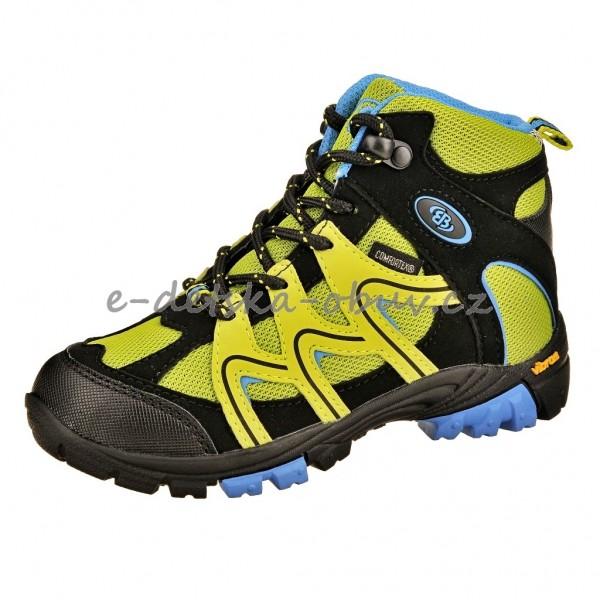 Dětská obuv Brütting Vision High  lemon blau - b75099e481