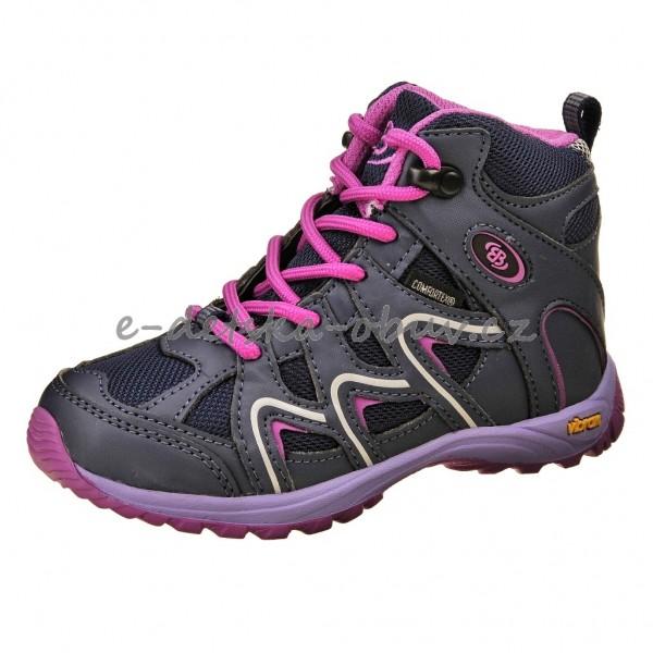 Dětská obuv Brütting Vision High  lila pink - 1c24e65d97