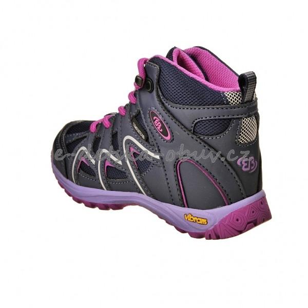 Dětská obuv - Brütting Vision High  lila pink  9f4484938f