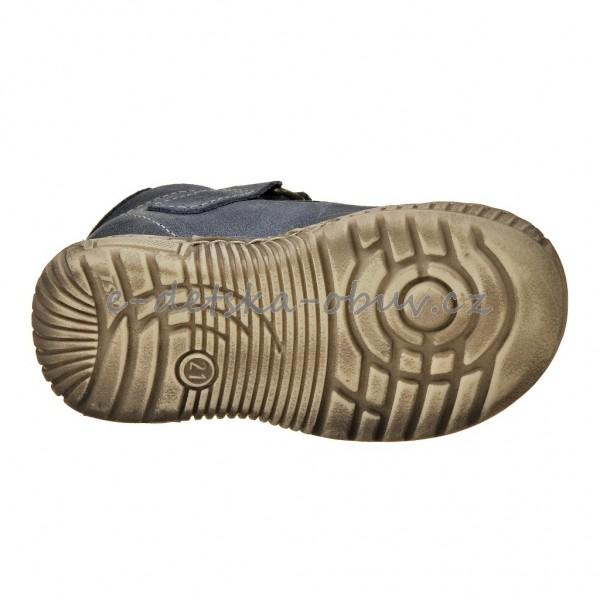 Dětská obuv - Pegres 1403 (SZ)  modrá  f095def962