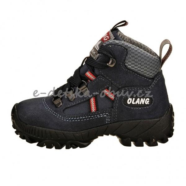 Dětská obuv - OLANG Cortina-Kid.tex  Blu  878edc3600