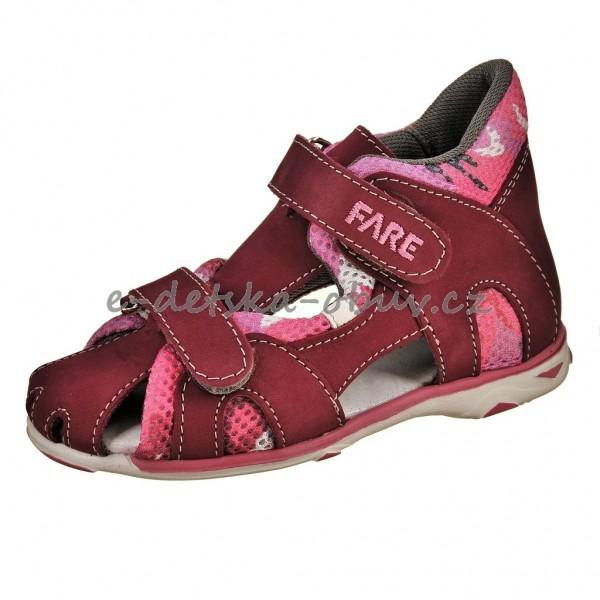 Dětská obuv Sandály FARE 763291 - c70875d90c