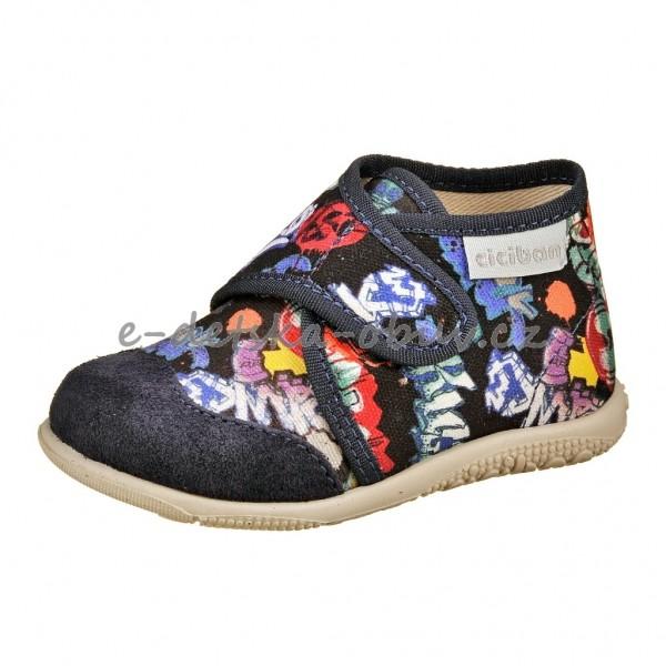 Dětská obuv Domácí obuv Ciciban SHOWER - 655a17ed23