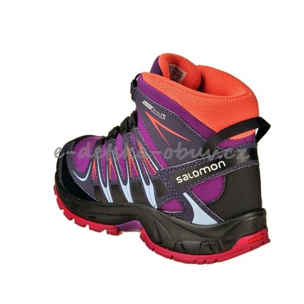3f5c334da40 Dětská obuv - Salomon XA Pro 3D MID  deep dahlia