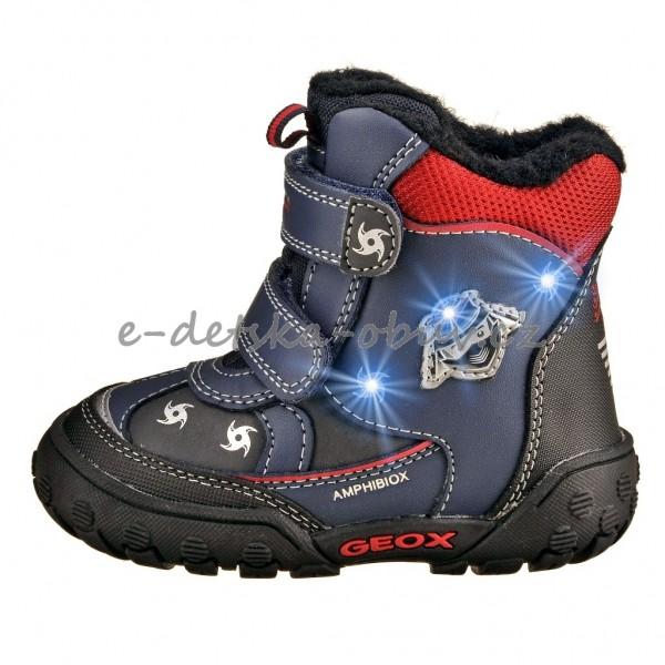 Dětská obuv - GEOX B Gulp  navy red  1cb4123c9f
