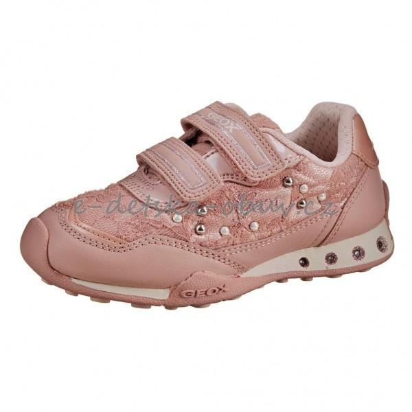 23568428e71 Dětská obuv GEOX J.N. Jocker G.B.  dk.rose -