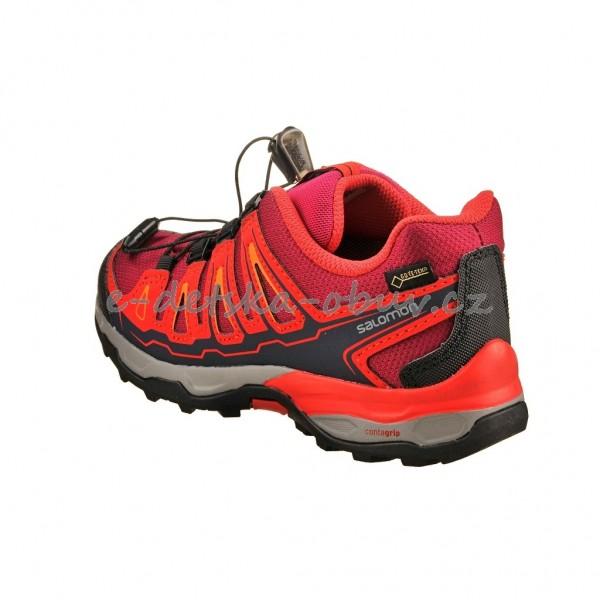 fa738650b88 Dětská obuv - Salomon X-Ultra GTX J  Poppy red