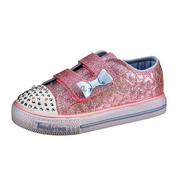 Dětská obuv Skechers S Lights  pink - ec8b8de3c72
