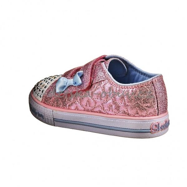 a1731eab714 Dětská obuv - Skechers S Lights  pink