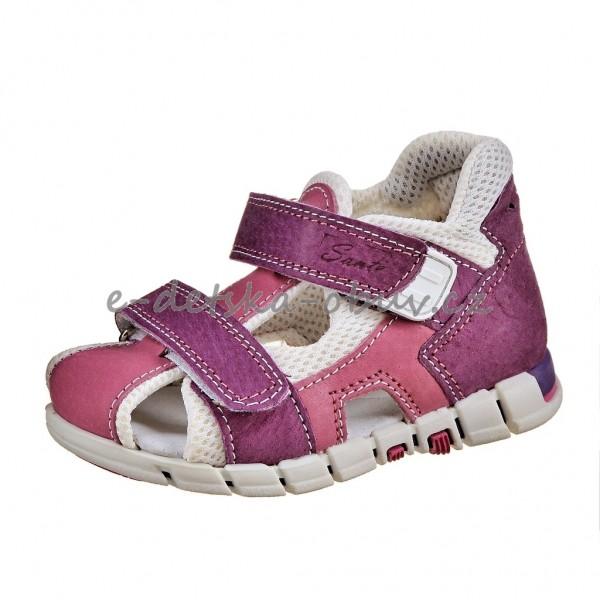 a219a3f1d228 Dětská obuv Sandálky Santé 810 401  fialovo růžová     -
