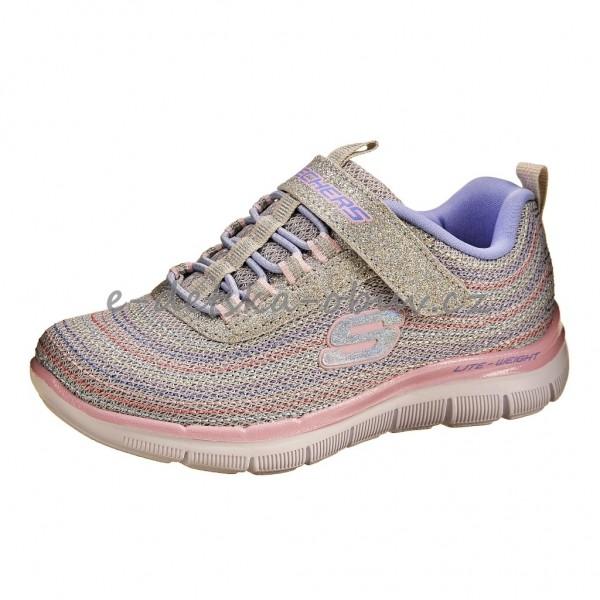 3f9493d2951 Dětská obuv Skechers 81658  light gray -