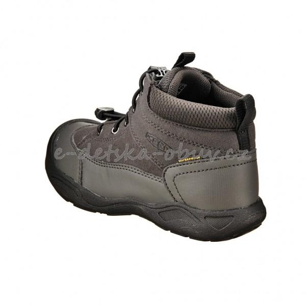 Dětská obuv - KEEN Jasper MID WP  black raven  e8318d2acf