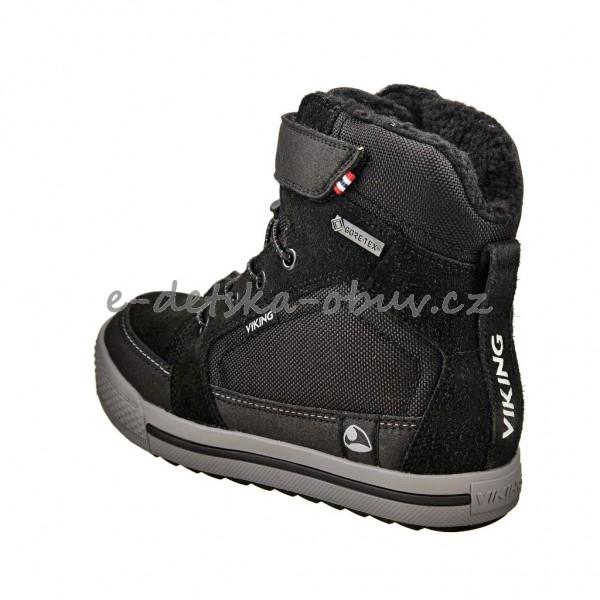b152f6b75e8 Dětská obuv - VIKING Zing GTX  black grey