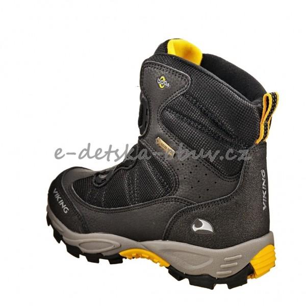 Dětská obuv - VIKING Boulder BOA GTX  Black silver  63279700d9
