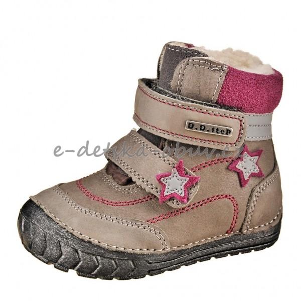 Dětská obuv - D.D.Step Grey  dc803e9721
