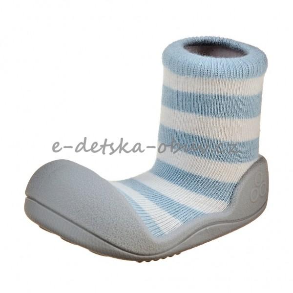 Dětská obuv Attipas Natural herb blue  BF - První krůčky dd15092ee3