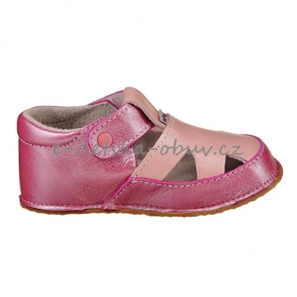 Dětská obuv - Pegres 1096  růžové  BF  3f599de3ec