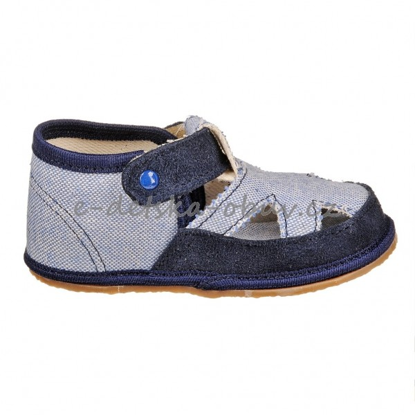 Dětská obuv - Pegres 2096  modré  BF  eff6bb2386