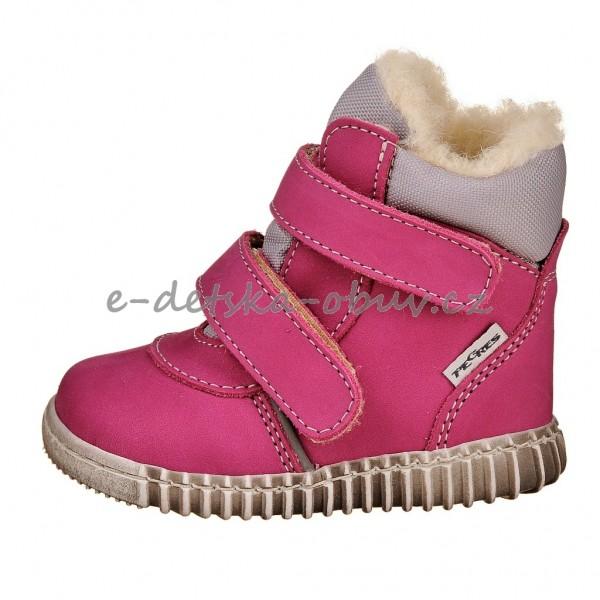 Dětská obuv - Pegres 1706 zimní růžové s.z.  6ef1045ca3