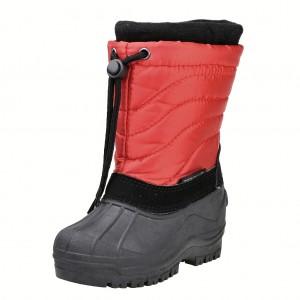 Dětská obuv Sněhule PEDDY PN-631-25-14/červená -