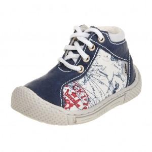 Dětská obuv Santé 750/401    /modrá -  Celoroční