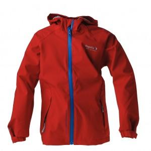 Dětská obuv Softshellová bunda Regatta RKW067  /červená - Oblečení