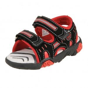 Dětská obuv Peddy PO-612-36-10  /black/red -