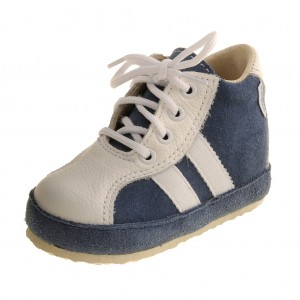 Dětská obuv Capáčky PEGRES 1093  modré - 640a6346c2