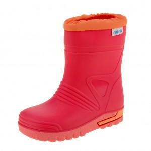 Dětská obuv Gumovky Nora DINO  /fuxia - Gumovky