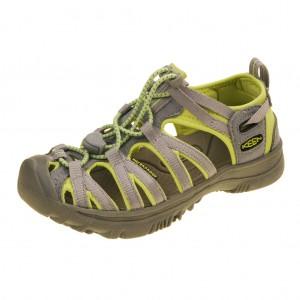 Dětská obuv KEEN Whisper   neutral gray/sap green -