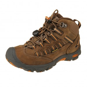KEEN Alamosa MID WP  /dark earth/burnt orange
