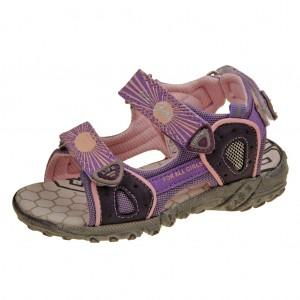 Dětská obuv Santé RN113BXL   /purple/pink -