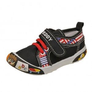 Dětská obuv Plátěnky PEDDY PQ-601-26-09 /černé -