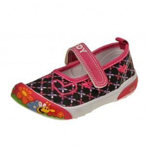 Dětská obuv Plátěnky PEDDY PQ-601-26-12 /černé -