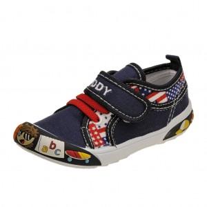 Dětská obuv Plátěnky PEDDY PQ-601-27-09 /modré -