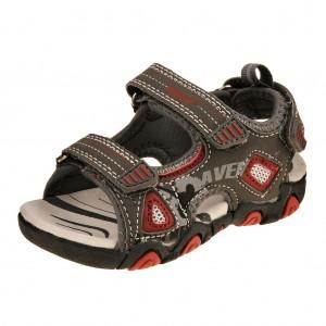 Dětská obuv Peddy PO-612-32-08  /šedá/červená -