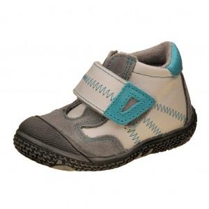 Dětská obuv Santé N661/201    /bílá/tyrkys -  Celoroční