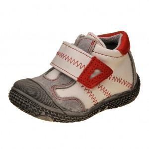 Dětská obuv Santé N661/201    /bílá/červená -  Celoroční