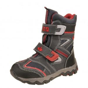 Dětská obuv LICO Snowboard V      /marine/schwarz/rot -  Zimní
