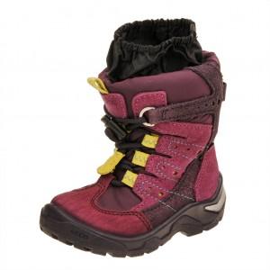 Dětská obuv ECCO Snowride   /red plum/fuchsia -